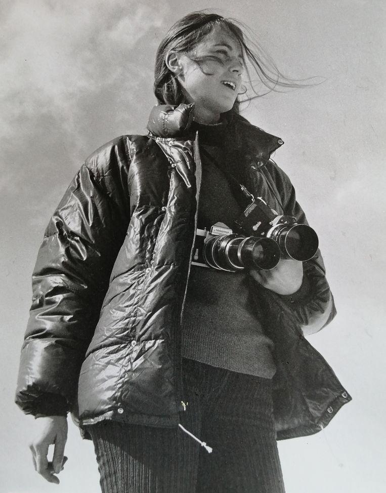 Laurence Brun in Afghanistan (1972). Beeld