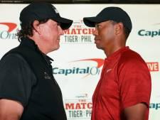 Mickelson werkt aan nieuwe 'The Match' tegen Woods
