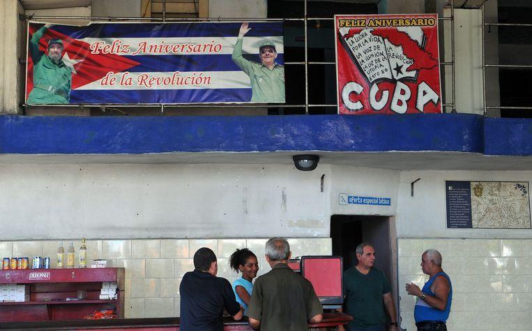 Beeld van de Cubaanse hoofdstad Havana. Beeld afp