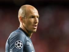 Robben begint bij Bayern op de bank