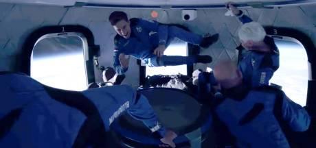 Oliver Daemen (18) was tien minuten in de ruimte: 'We hadden alleen maar plezier'