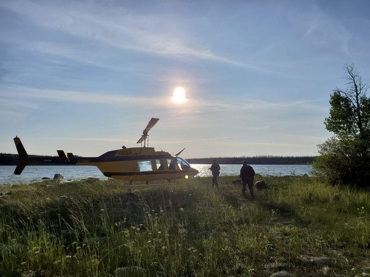 De Canadese politie zoekt verder naar de twee verdachte tieners. Beeld Royal Canadian Mounted Police