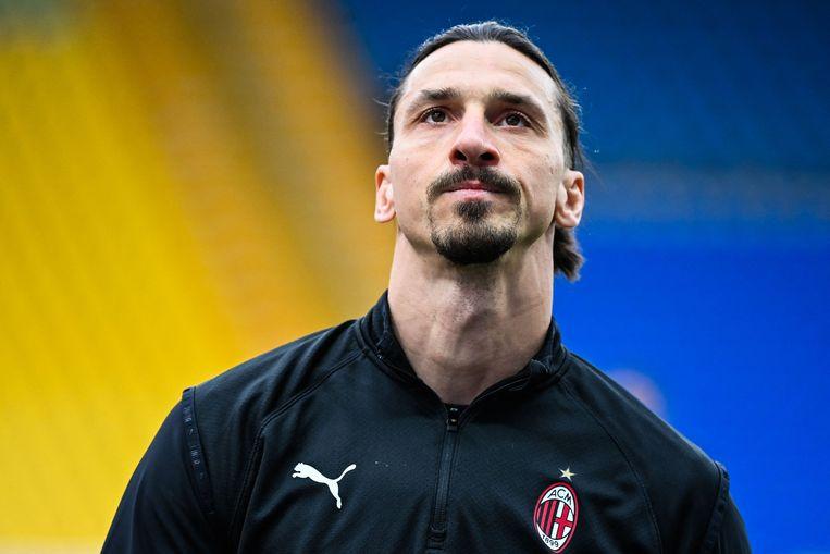Zlatan Ibrahimovic zou belangen hebben in een Maltees gokbedrijf, tegen de regels van Uefa in. Beeld AFP