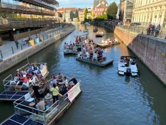 Feest op het water: na twee jaar wachten eindelijk tweede editie van Waterzooi