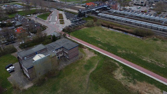 Het gebied rond het station Woerden gaat de komende jaren ingrijpend veranderen.