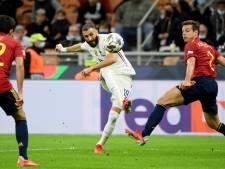 Un petit bijou de Benzema et une nouvelle remontada: la France s'adjuge la Ligue des Nations face à l'Espagne