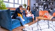 Blinde Victor speelt conga voor koningin in 'Merci voor de muziek'