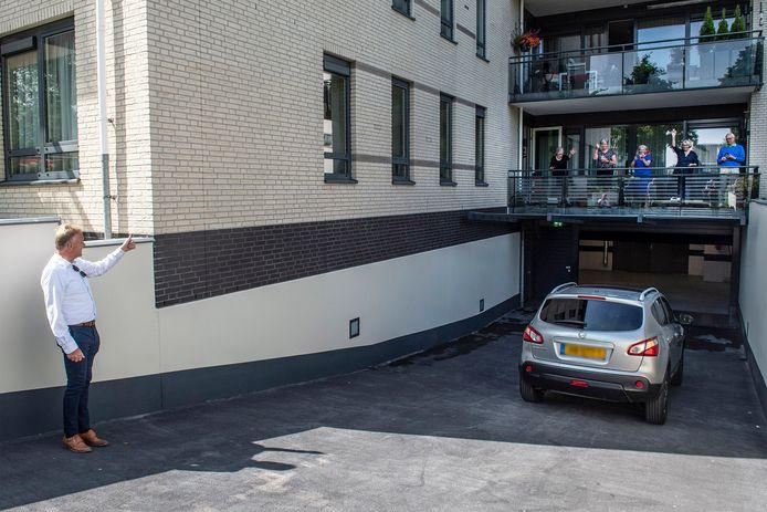 De parkeergarage van Residentie Stadhouders Veste is weer geopend.