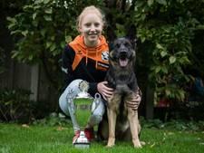 Haaksbergse Kim (15) en haar herder Cheetah behoren tot de wereldtop