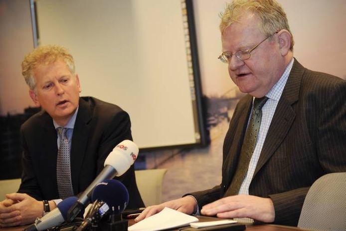 Ton van Beers (rechts) op archiefbeeld.