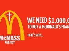Amerikaanse gelovigen willen McDonald's in de kerk