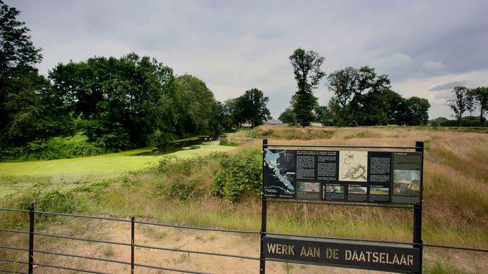 Camping De Grebbelinie bij fort Daatselaar.