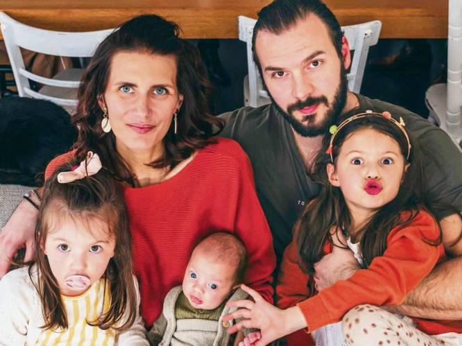 """COLUMN. Lara Switten, strijdt tegen kanker en viert de verjaardag van dochter Romée. """"Het was heerlijk, al kon ik zelf geen ballonnen opblazen of taarten bakken"""""""