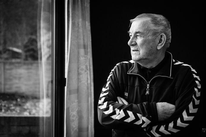 Jef Van Camp (85) is nog altijd de meest legendarische spits van KFC Diest.