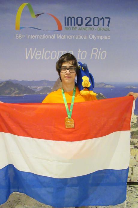 19-jarige Spijkenisser wint goud op Internationale Wiskunde Olympiade