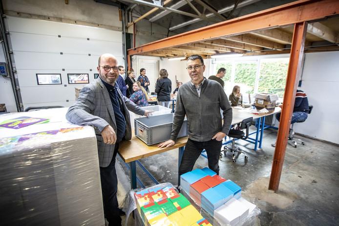 Barry Siero (links) en Wim Pruijn van Confidencus.
