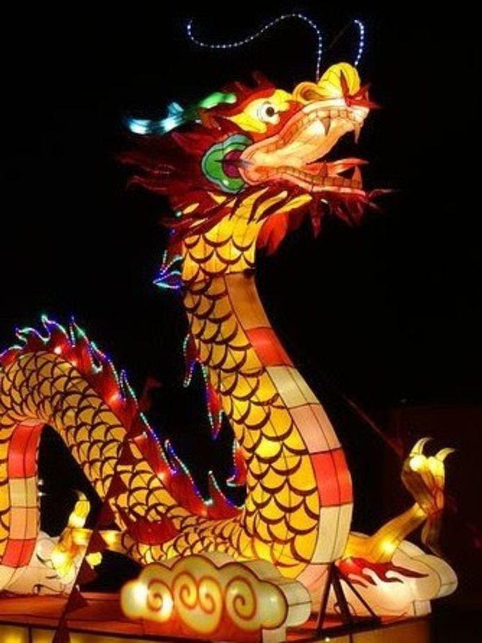 Chinese lichtkunst Qinhaui Latern Festival