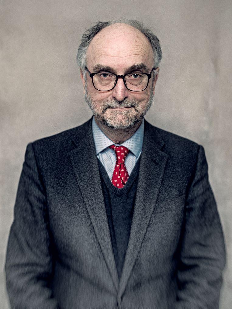 De Universiteit van Leiden onderzoekt of hoogleraar Paul Cliteur wel voldoende afstand heeft genomen van Baudet. Beeld Jitske Schols