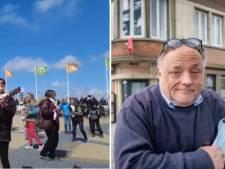 """Une flashmob improvisée à Middelkerke, Marc Van Ranst désapprouve: """"J'avais prévenu Jean-Marie"""""""