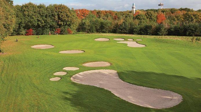 Het Efteling Golfpark tussen Kaatsheuvel en De Moer.