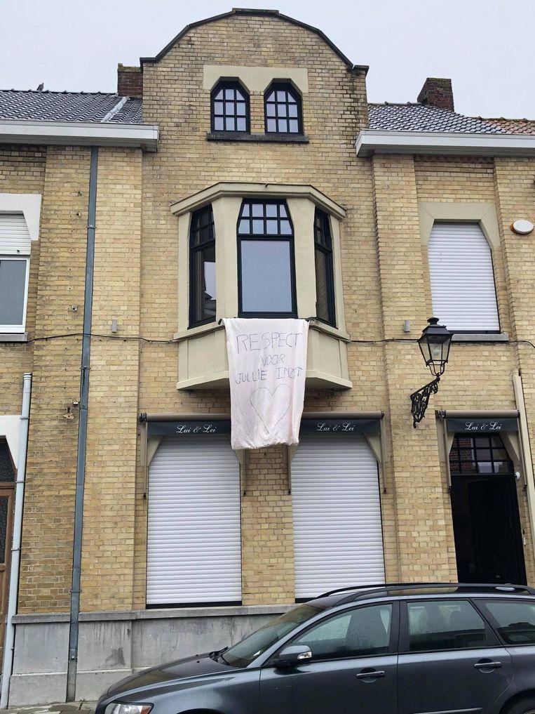 Ook #mercivanuitmijnkot in Poperinge.