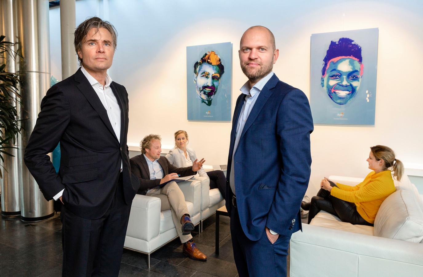 Jan Kwint en Marius de Bruin van LTP