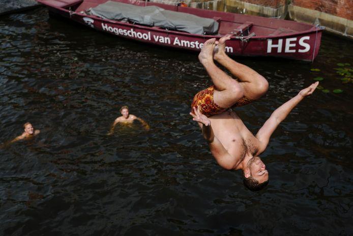 Bij de Amstel.