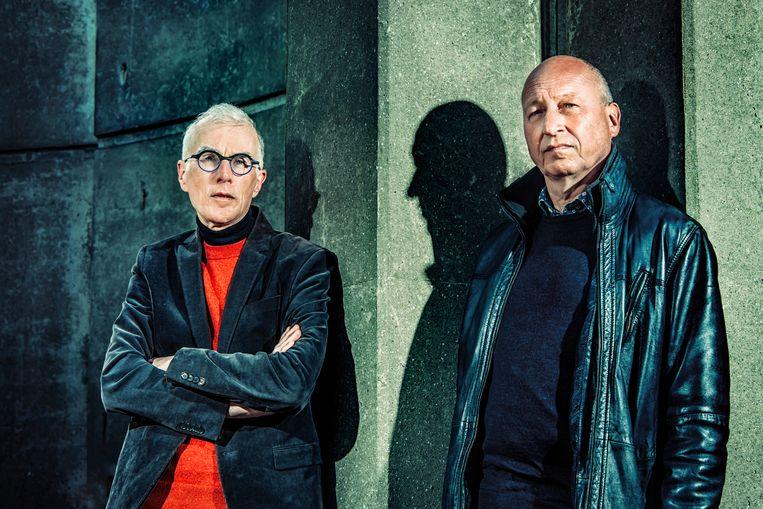 Jan Balliauw en Stefan Blommaert. Beeld Geert Van de Velde