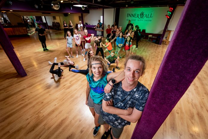 Dansschool InnerAll met Paulien en Merijn Ipskamp.
