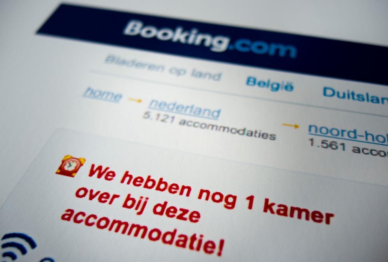 Klanten pushen om toch maar snel te boeken: Booking.com heeft aan de Europese Commissie beloofd het niet meer te doen. Beeld ANP XTRA