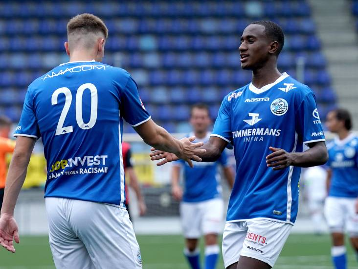 FC Den Bosch oefent tegen Tielse amateurs van TEC
