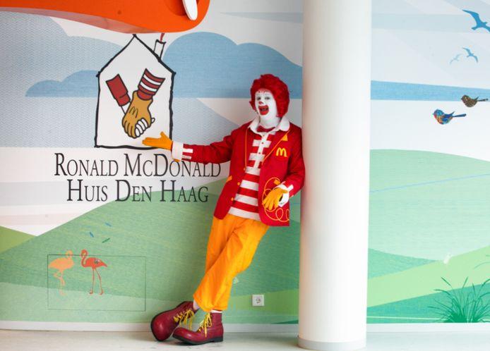 Ronald McDonald Huis in Den Haag.