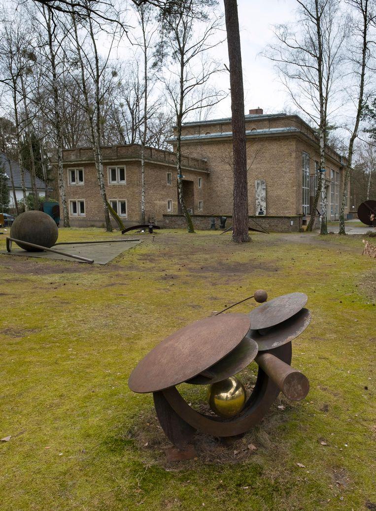 Een cadeautje van Hitler, dit atelier van Arno Breker in Berlijn. Beeld Alamy Stock Photo