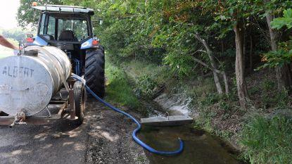 Bierbeekse landbouwers kunnen voortaan gemakkelijker water oppompen uit de gracht in de Herpendalstraat