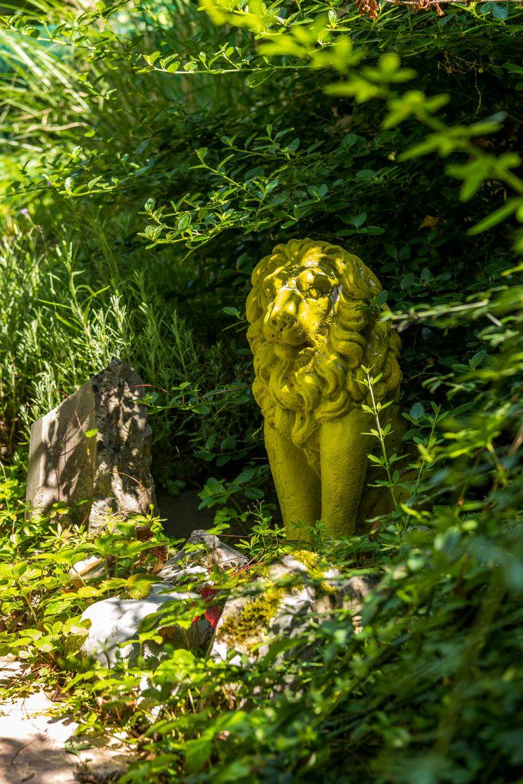 Het tuinontwerp is geïnspireerd op het principe van de Engelse  tuinkamers. Beeld Luc Roymans