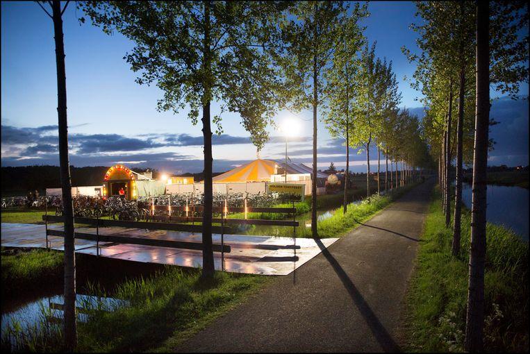 Golden Tentfeest in 2017. Beeld Werry Crone