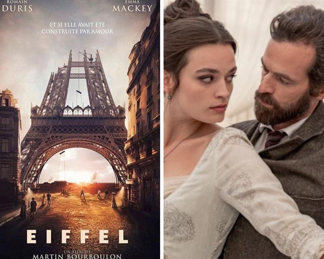 Romain Duris craque pour Emma Mackey dans la bande-annonce d'Eiffel.