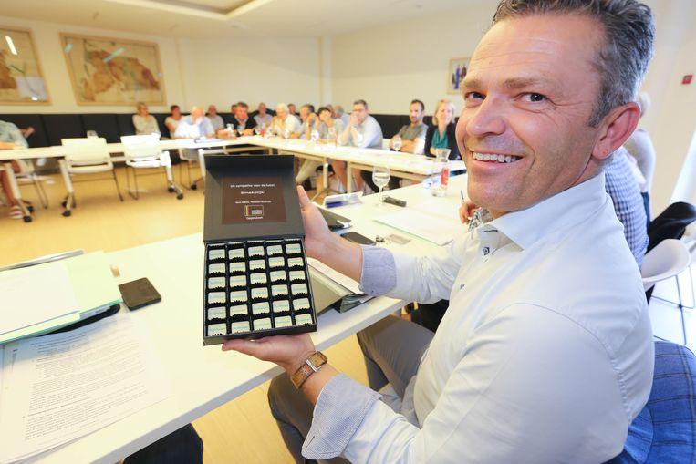 Vurgemeester Lode Ceyssens (CD&V).