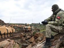 Turkije stelde VS op de hoogte  van aanval op Koerden in grensregio