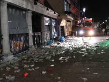 Wanneer de carnavalsvierders zijn vertrokken, blijft deze rotzooi achter in Breda