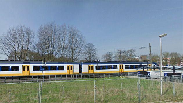 Het station van Waddinxveen.