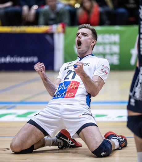Volleyballers Orion na zinderend duel naar finale om landstitel