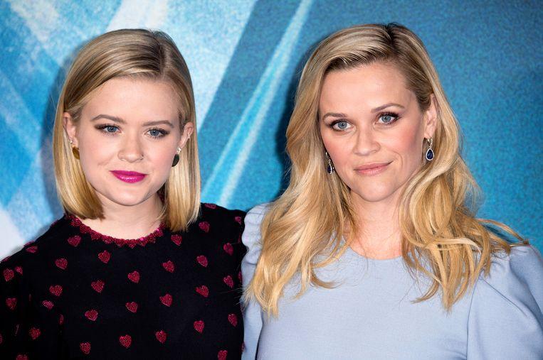 Reese Witherspoon en haar dochter Ava. De opvolging staat klaar.