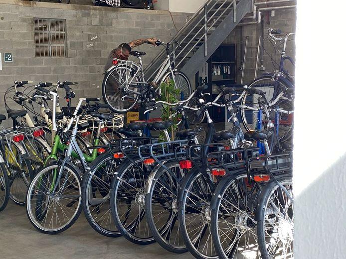 Momenteel telt de bib 25 fietsen.