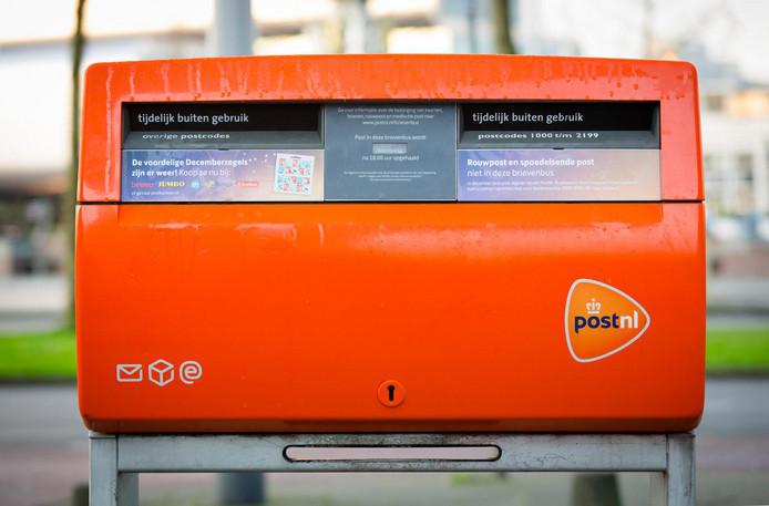 Er verdwijnen diverse brievenbussen in de regio.