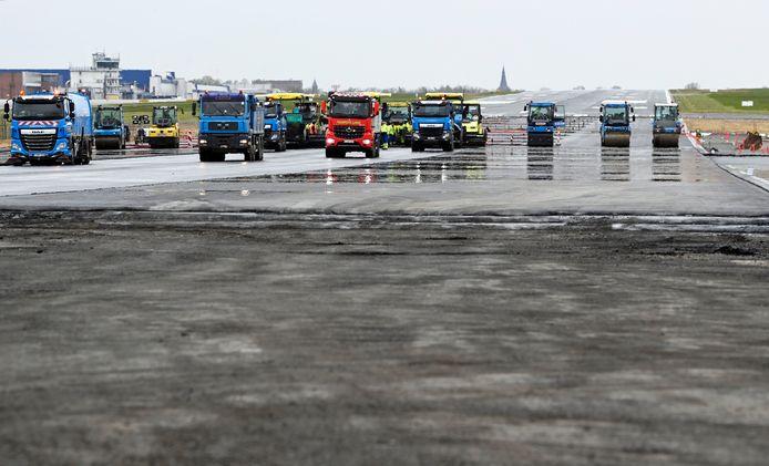 Chantier de l'aéroport de Charleroi (BSCA, 6 mai 2021)