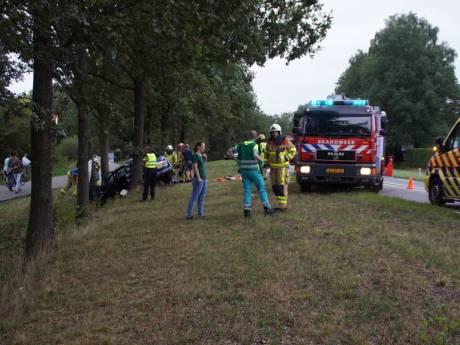 Zes inzittenden naar ziekenhuis na verkeersongeval op N18 bij Groenlo