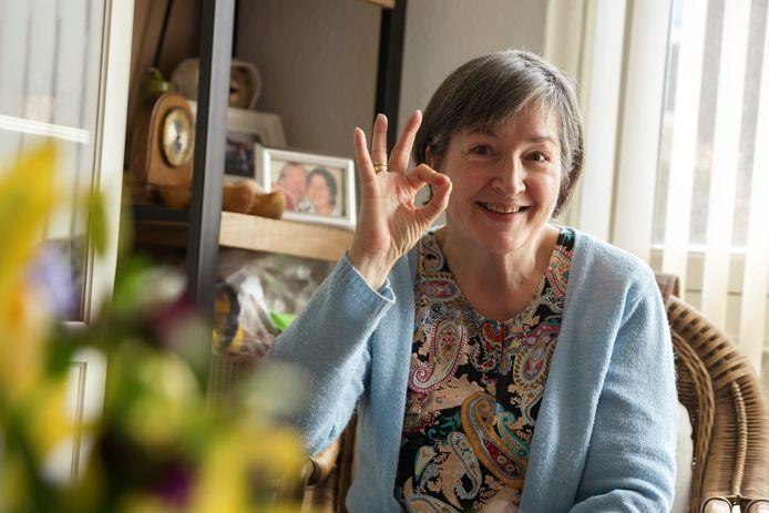 Gera Vonk-Huisjes: 'De bewustwording voor de problemen van dove mensen groeit. En daar heeft corona een extra zetje aan gegeven.'