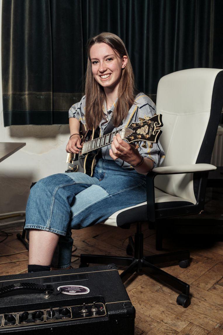 Charlotte van Eeden (18) Beeld Jakob van Vliet