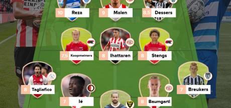 Reza en Malen excelleren in doelpuntrijk weekend